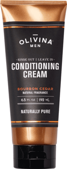 Rinse Out | Leave In Conditioning Cream - Bourbon Cedar 6.5 fl oz