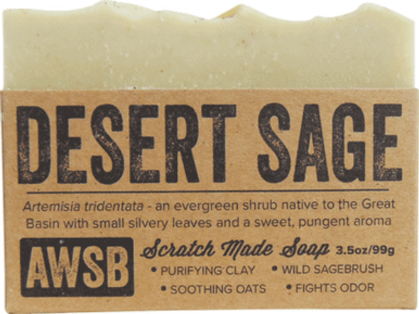 Desert Sage Organic Soap Bar