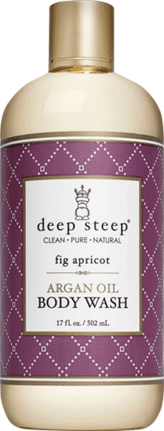 Deep Steep Fig Apricot Body Wash