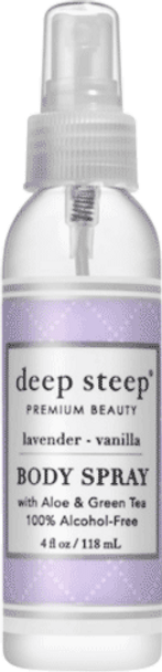 Deep Steep Lavender Vanilla Dry Oil Body Spritzer