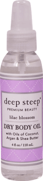 Deep Steep Lilac Blossom Dry Oil Body Spritzer