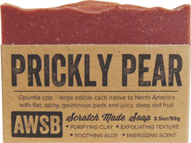 A Wild Soap Bar Prickly Pear Organic Soap Bar