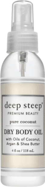 Deep Steep Pure Coconut Dry Oil Body Spritzer