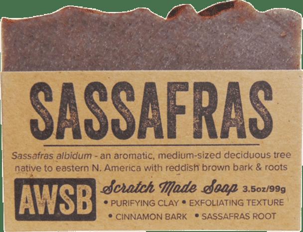 A Wild Soap Bar Sassafras Organic Soap Bar