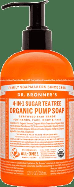 Dr. Bronner's Tea Tree Liquid Hand Soap