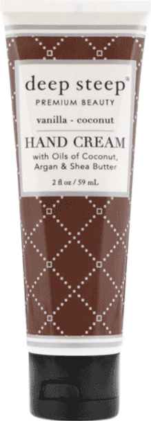 Deep Steep Vanilla Coconut Hand Cream