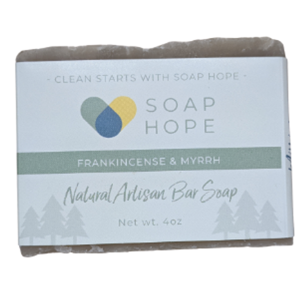 Natural Artisan Soap Bar - Frankincense & Myrrh