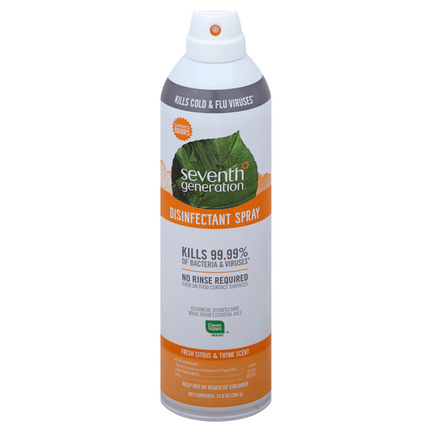 Citrus and Thyme Disinfectant Spray