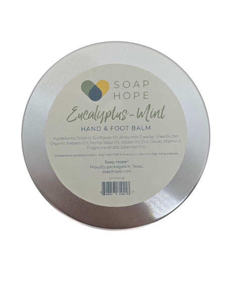 Soap Hope Collection Eucalyptus-Mint Non-Greasy Hand & Foot Balm