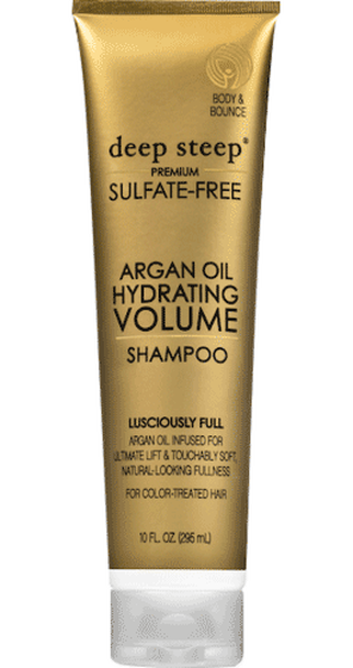 Deep Steep Argan Hydrating Volume Shampoo