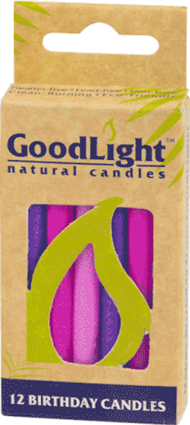 Birthday Candles - Pink and Purple