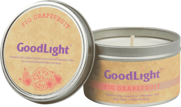 Candle in Tin (Fig Grapefruit) - 6 oz.