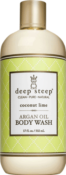 Deep Steep Coconut Lime Body Wash