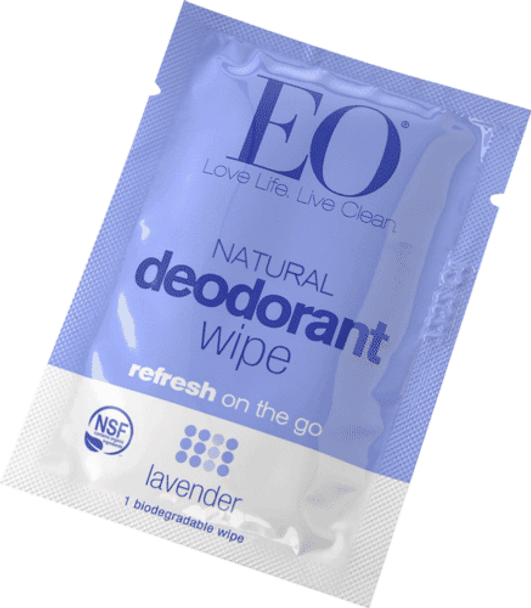 EO Products Deodorant Wipes