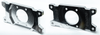 There are five different dual caliper bracket options available! These are the 94-04 Mustang Cobra Dual Caliper Brackets.