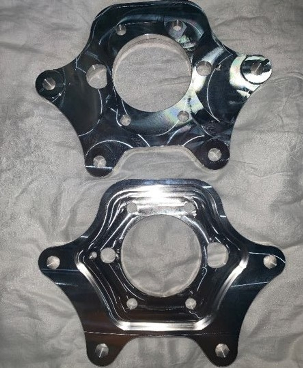 Billet S197 Mustang Dual Caliper Brackets by Duncan Performance