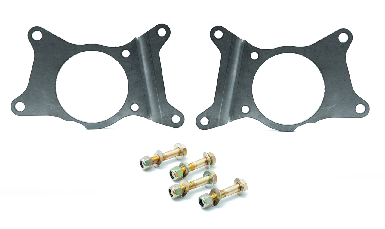 Z32 Dual Caliper Brackets for 99-04 Mustang (IRS ONLY )