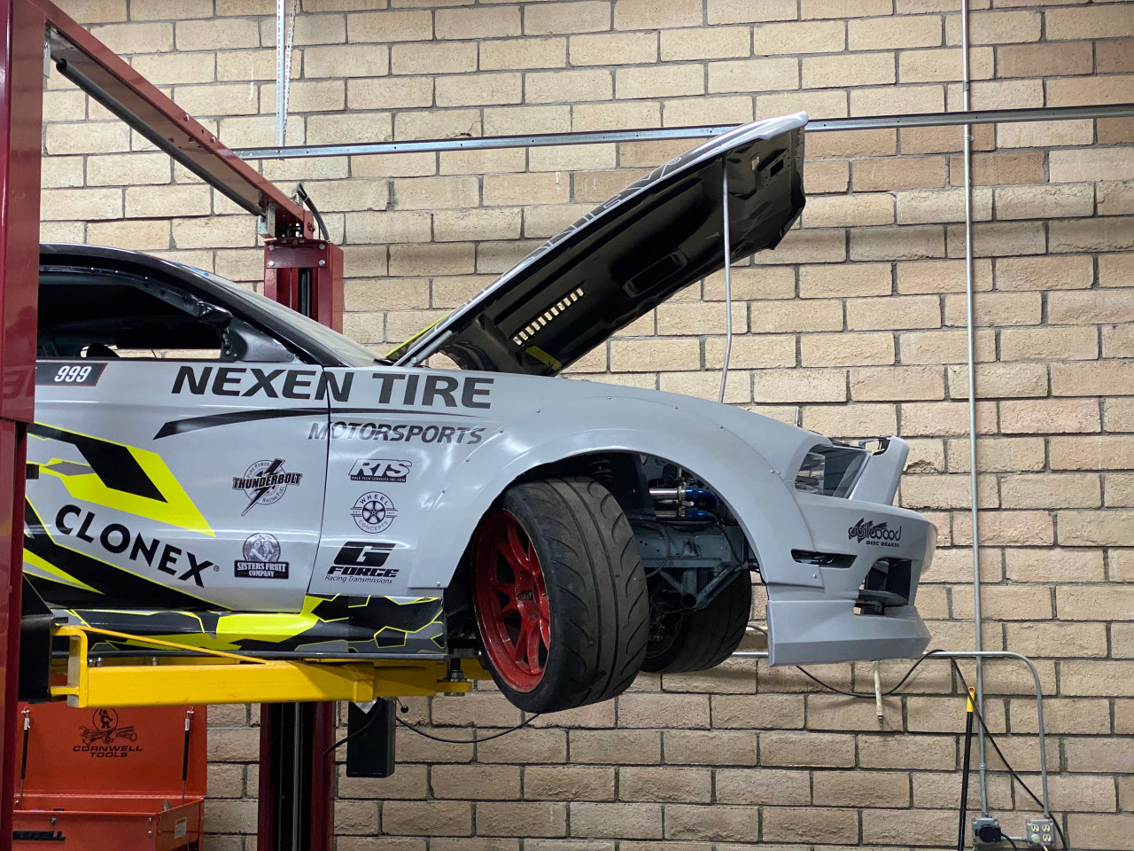 999 Angle Kit for 2005-2014 Ford Mustang  installed on Trenton Beechum's FD Pro 2 Championship winning Mustang.