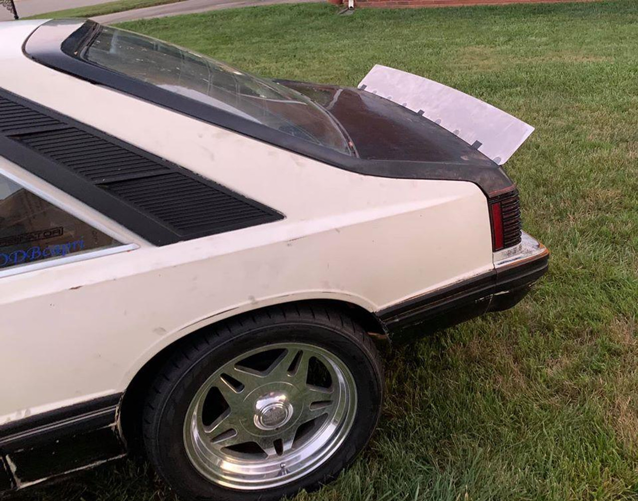79-93 Mustang Hatchback Ducktail Spoiler by Cerbinator Auto Designs