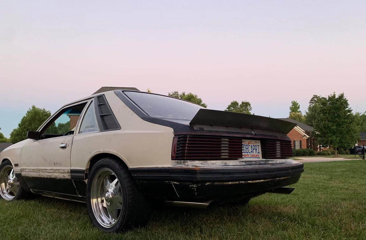 79-93 Mustang Hatchback Ducktail Spoiler (Welded Version)