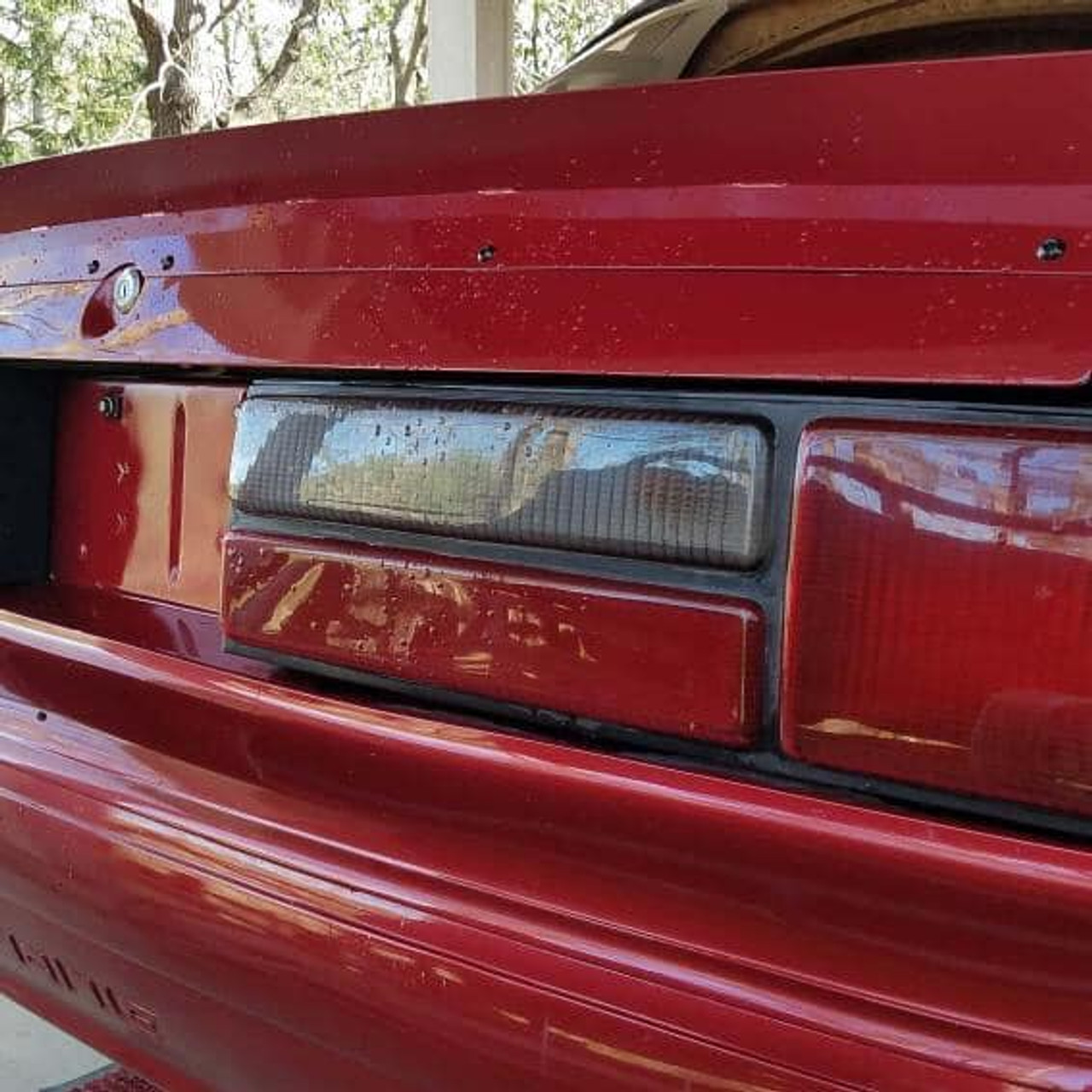 79-93 Mustang Coupe/Convertible Ducktail Spoiler Short