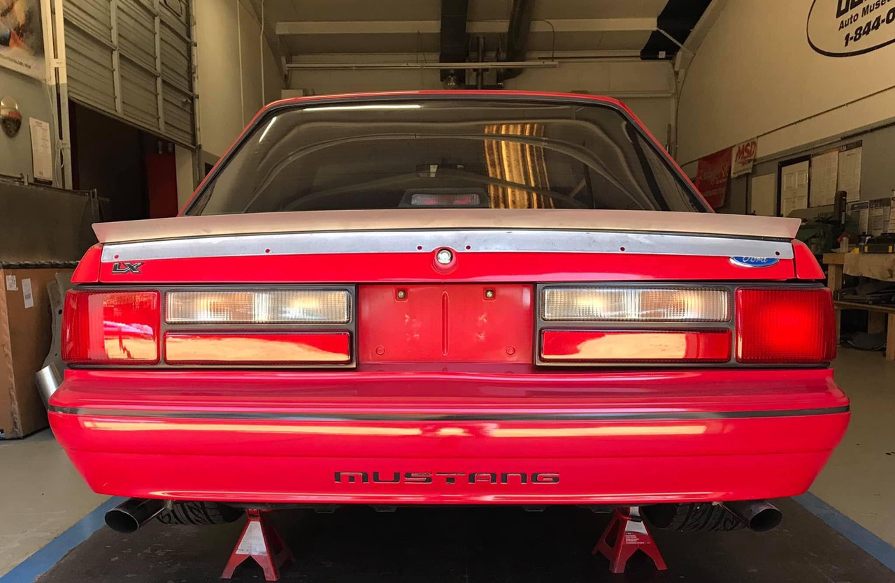 79-93 Mustang Coupe/Convertible Ducktail Spoiler (Welded Version)