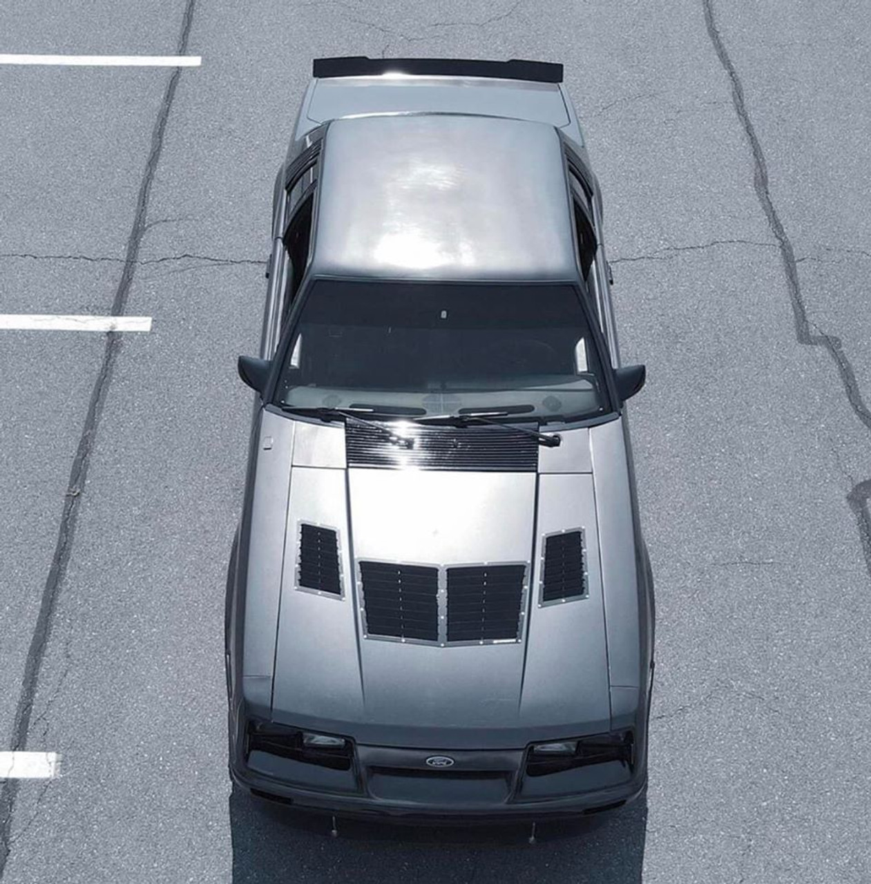 79-93 Mustang Coupe/Convertible Center Cut Ducktail Spoiler