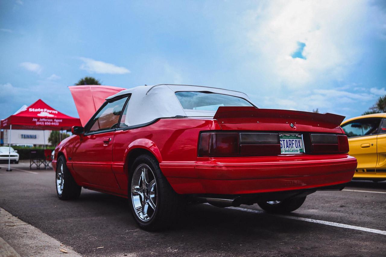 79-93 Mustang Coupe/Convertible Center Cut Ducktail Spoiler (Beadless Version)