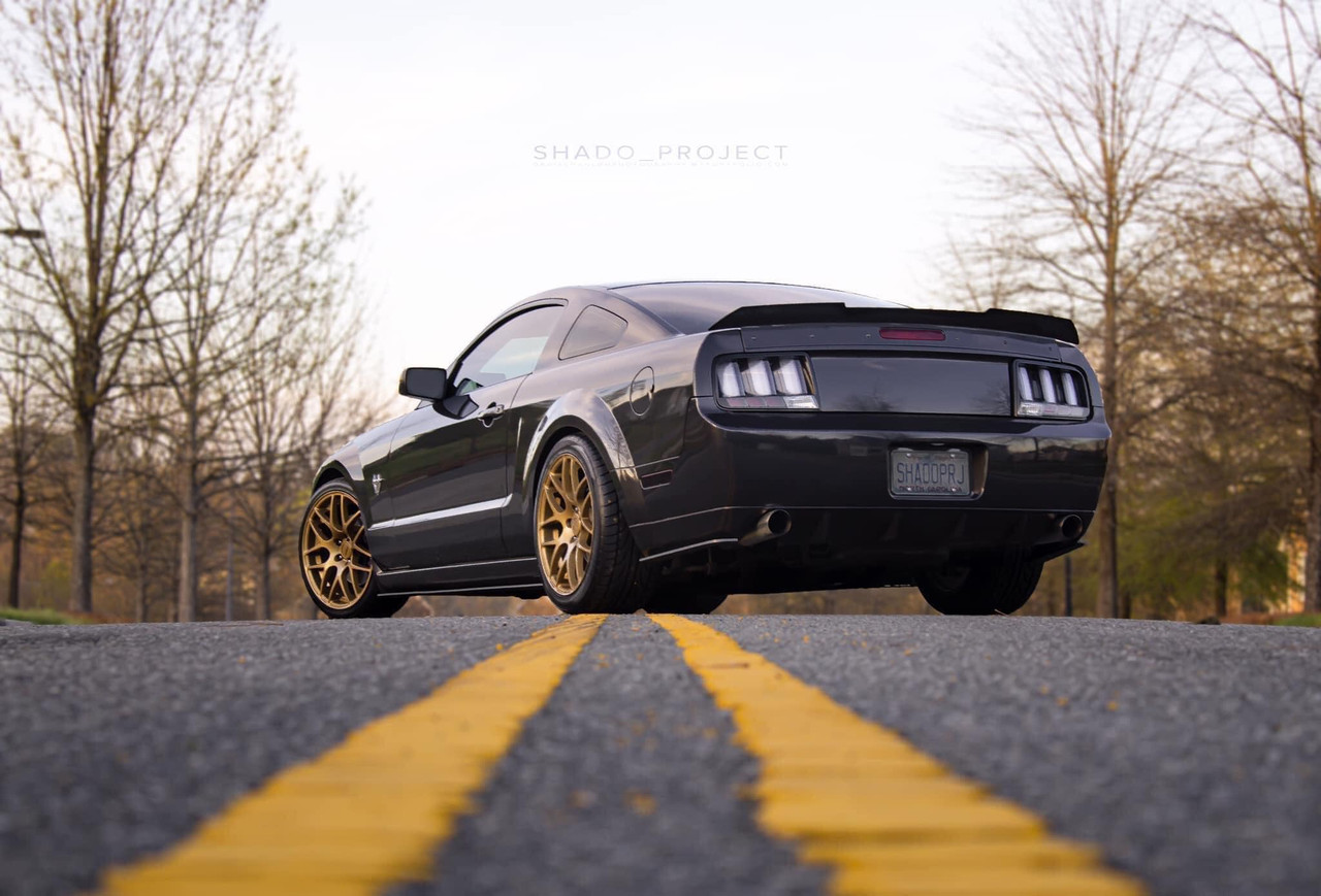 2005-2009 Mustang Rear Ducktail Spoiler (Beadless Version)