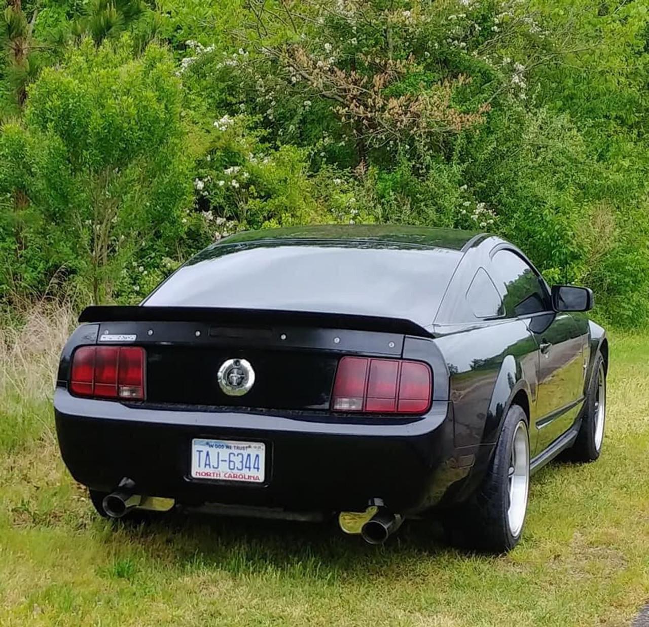 05-09 Mustang Rear Ducktail Spoiler (Welded Version)