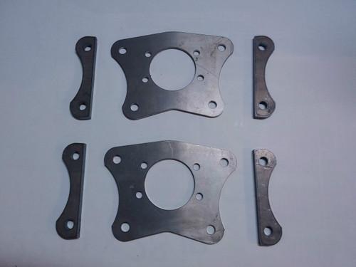Dual Caliper Brackets for 79-04 Mustang