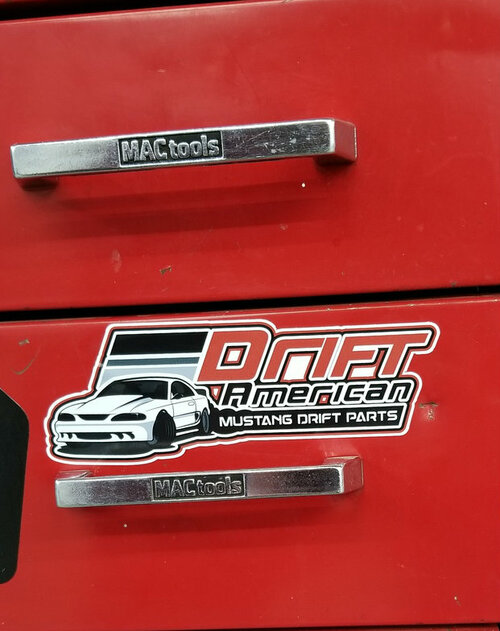 These Small Drift American Stickers look great on tool boxes, vehicles, your computer,  you name it!