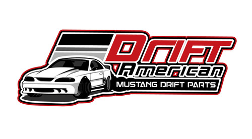 Mustang Drift stickers are exclusive to DriftAmerican.com