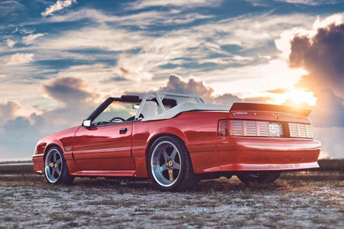 79-93 Mustang Coupe/Convertible Ducktail Spoiler (Beadless Version)