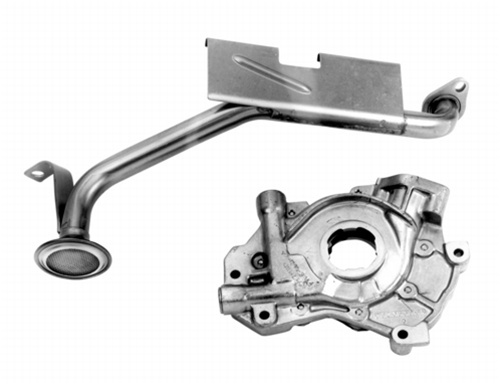 Ford Performance High Volume 4.6 / 5.4 Oil Pump with Pickup Tube  Fits  2 valve and 4 Valve engines.