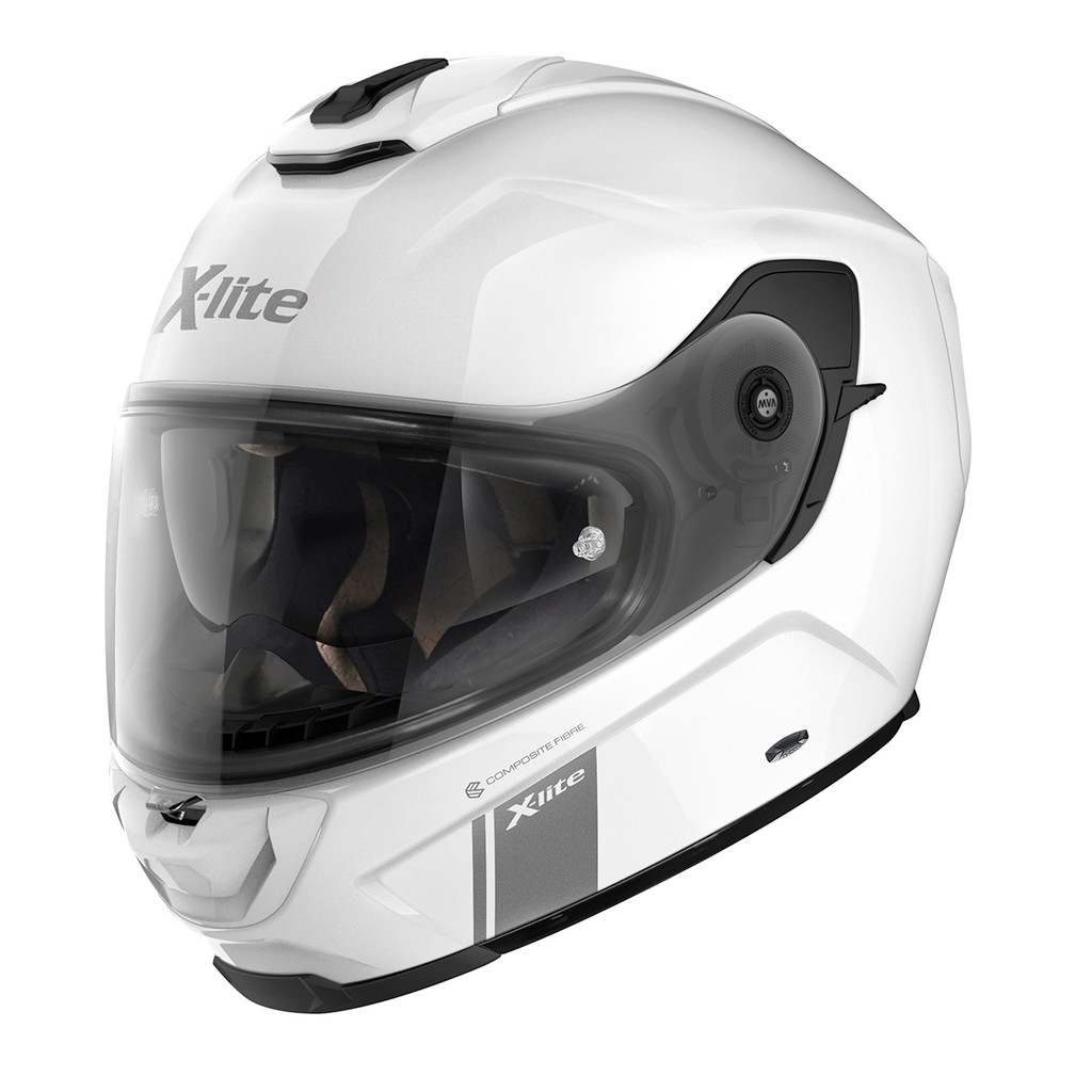 X-903 Metal White Full Face Helmet