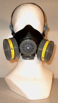 silicone half mask air purifying respirator