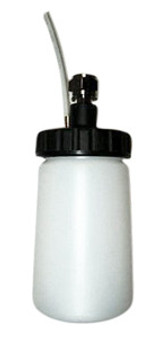 HVLP 8 oz siphon feed detail cup