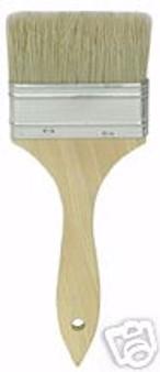 "3"" chip brush paint/adhesive/glue natural bristle"