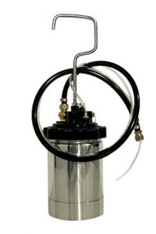 HVLP Turbine Sprayfine 2 Qt Remote Paint Cup w/Hoses