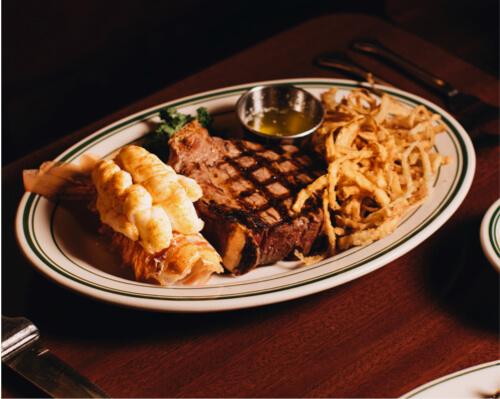 pine club menu
