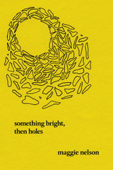 Something Bright, Then Holes: Poems