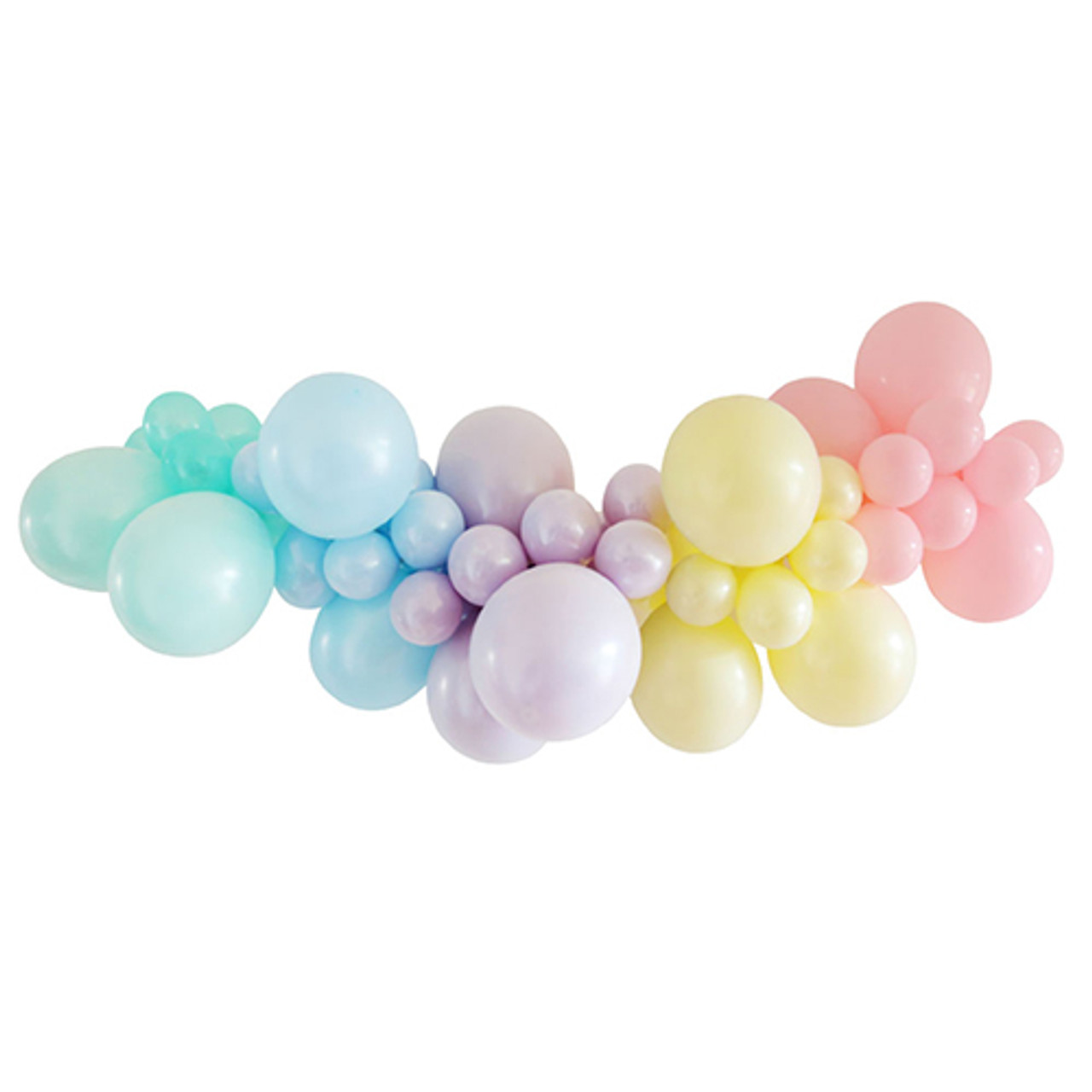 Balloon Garland Diy Kit Pastel Discount Party Warehouse