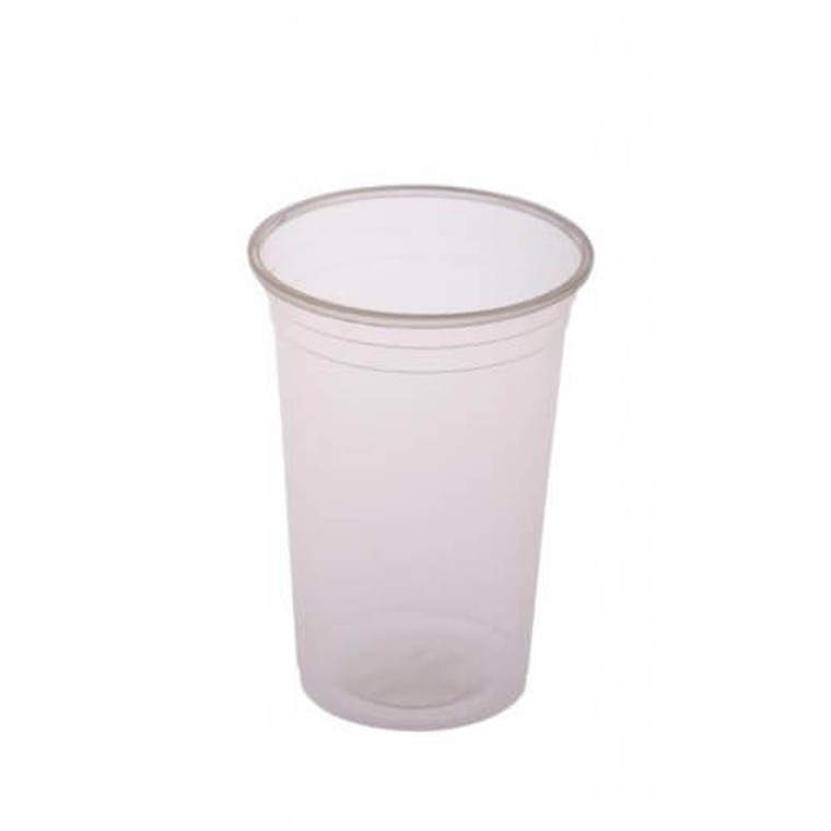 Clear Plastic Cups- 350ml - 50 Pack