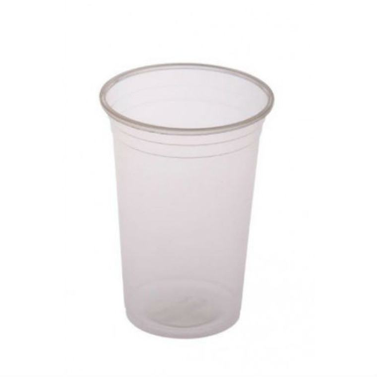 Clear Plastic Cups- 425ml - 50 Pack