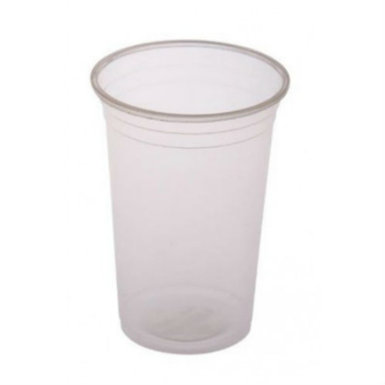 Clear Plastic Cups- 540ml - 50 Pack