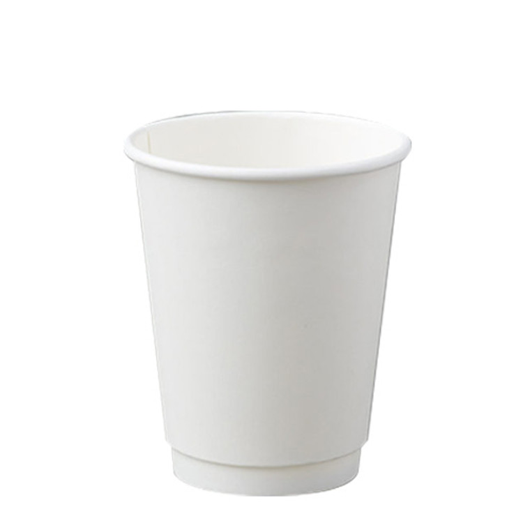 BetaEco White Smooth Double Wall Cups 355ml 25Pk