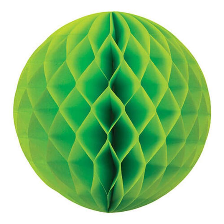 Decorative Honeycomb Ball 35cm - Lime Green