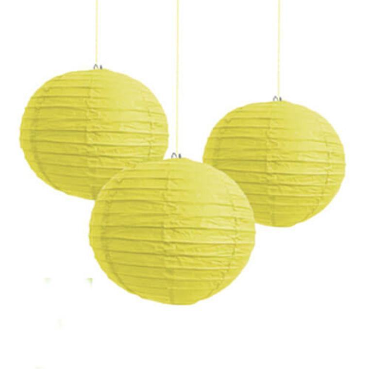 Paper Lantern Yellow 25cm