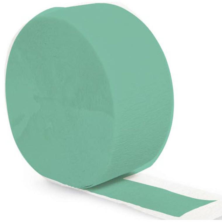 Streamer Crepe Paper Green Fresh Mint